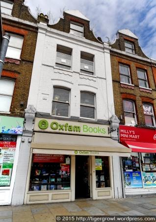 Oxfam Bookshop, Islington