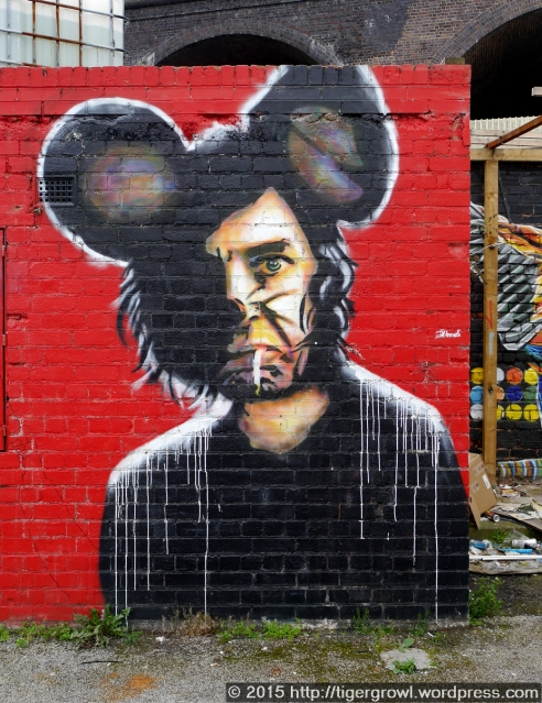 Street art in Digbeth
