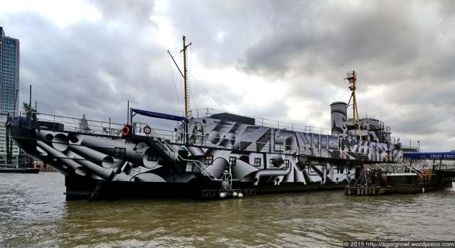The Dazzle Ship